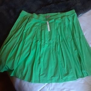 Nwt Asos Box Pleat Skater Skirt